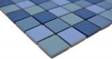 blau türkis Poolmosaikfliese RUTSCHEMMEND DUSCHTASSE BODENFLIESE MOS18-0404-R10