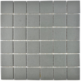 Mosaikfliese Keramik grau metall RUTSCHEMMEND RUTSCHSICHER MOS14-0222-R10