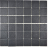Mosaik Fliese Keramik schwarz MOS14-0311-R10