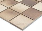 Mosaikfliese Keramik BRAUN BEIGE MIX RUTSCHEMMEND RUTSCHSICHER MOS16-1211-R10_m