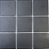 Mosaik Fliese Keramik grau schwarz MOS22-0302-R10