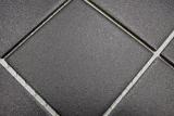 Mosaikfliese Keramik grau schwarz Duschtasse Bodenfliese  MOS22-0302-R10_m