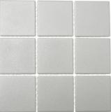 Mosaik Fliese Keramik grau steingrau MOS22-0204-R10