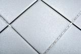Mosaikfliese Keramik grau steingrau Duschtasse Bodenfliese MOS22-0204-R10_m