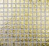 Mosaikfliese Keramikmosaik GOLD struktur Wand Fliesenspiegel Küche MOS18-0707