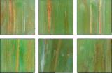 Glasmosaik hellgrün Mosaikfliese Glas Classic MOS230-GA22