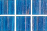 Glasmosaik blau kupfer Mosaikfliese Glas Classic changierend  MOS230-GA13