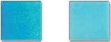 Glasmosaik blau iridium Mosaikfliese Glas Classic MOS240-WA16