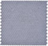 Rund Enamel mix grau glänzend/matt Mosaikfliese Wand Fliesenspiegel Küche Bad