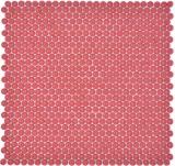 Knopfmosaik Glas rot glänzend matt Duschboden Duschwand Badewannenverkleidung MOS140-0911_f