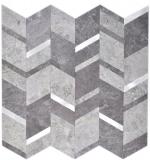 Pfeil Vinyl Steinoptik grau silber dunkel selbstklebend