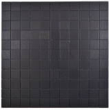 Quadrat Metalloptik Alu schwarz matt gebürstet selbstklebend