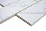 Mosaik Fliese Keramik weiß Brick Carrara in Dot Joint MOS24CD-0102_m