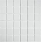 Mosaikfliese Transluzent Glasmosaik Crystal superweiß BAD WC Küche WAND MOS69-0101_f | 10 Mosaikmatten